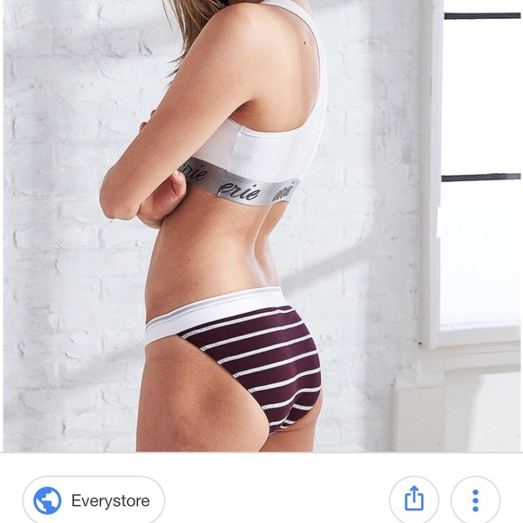 Nwt Aerie Underwear3 PairHigh Cut Bikini TFK1Jcl